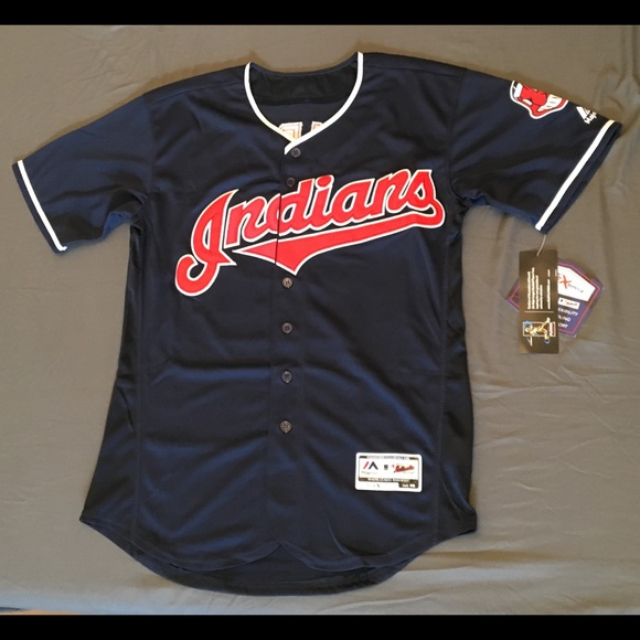 sports shoes 3beb3 6f481 Cleveland Indians #12 Lindor Blue jersey NWT